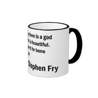 Fry Quote - Bone Cancer in Children Ringer Coffee Mug