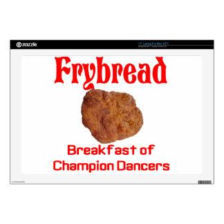 """Frybread Breakfast 17"""" Laptop Skins"""