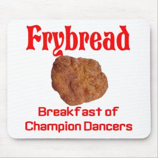 Frybread Breakfast Mouse Pad