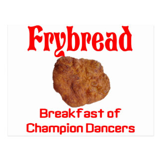 Frybread Breakfast Postcard
