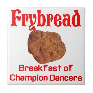 Frybread breakfast tile