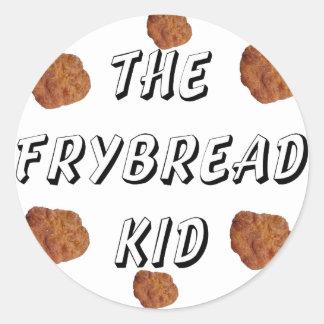 Frybread Kid Classic Round Sticker