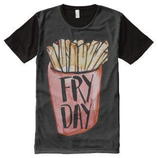 FRYDAY Fry Day All-Over-Print T-Shirt