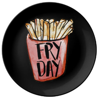 FRYDAY Fry Day Plate