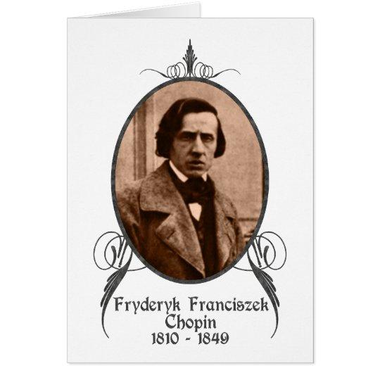 Fryderyk Chopin Card