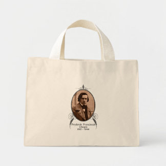 Fryderyk Chopin Mini Tote Bag