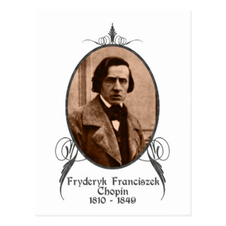 Fryderyk Chopin Postcard