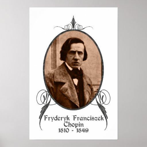 Fryderyk Chopin Poster