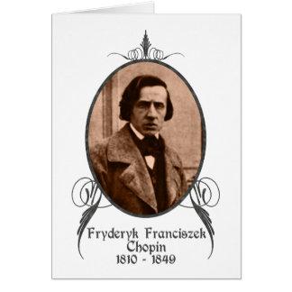 Fryderyk Chopin Tarjeta De Felicitación