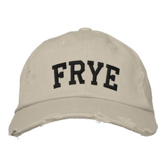 Frye Embroidered Hat Baseball Cap
