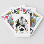 Fryer Family Crest Bicycle Card Deck