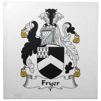 Fryer Family Crest Cloth Napkin
