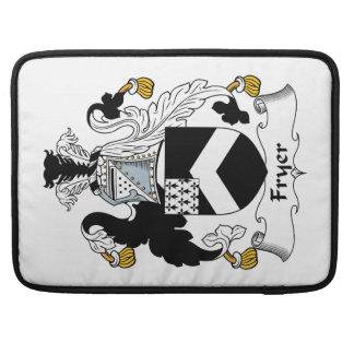 Fryer Family Crest Sleeve For MacBooks