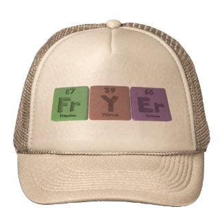 Fryer-Fr-Y-Er-Francium-Yttrium-Erbium.png Gorro De Camionero