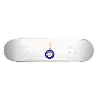 Frying Egg Custom Skate Board