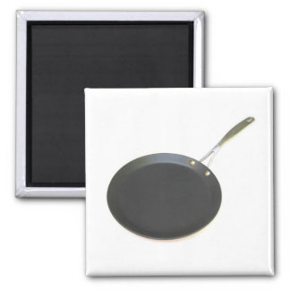 Frying Pan 2 Inch Square Magnet