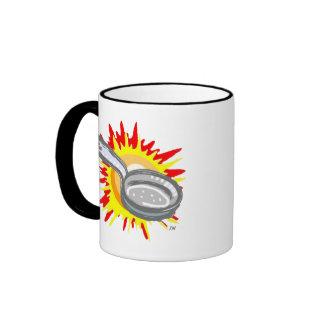 Frying Pan Gurl Frying Pan Ringer Mug
