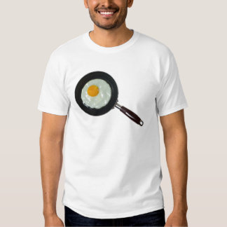 Frying pan with sunny side up egg shirt