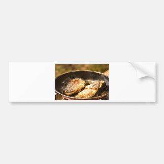 Frying Trout Bumper Sticker