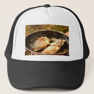 Frying Trout Trucker Hat