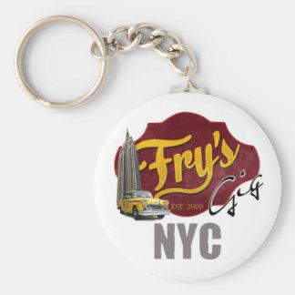 Fry's Gig NYC Keychain