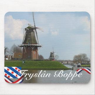 Fryslân Boppe Dokkum Windmills Mousepad