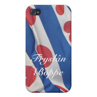 Fryslan Boppe Friesland Frisian Flag iPhone 4 Case