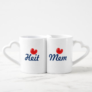 Fryslân Heit & Mem Love Coffee Mug Set