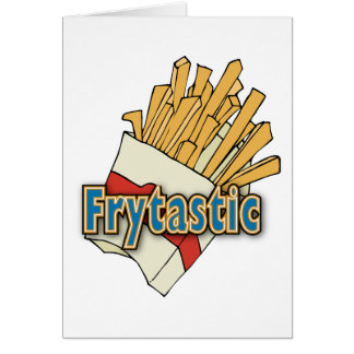 Frytastic ~ French Fries Fantastic Junk Foods Card