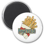 Frytastic ~ French Fries Fantastic Junk Foods Magnet