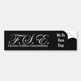 FSE bumper sticker
