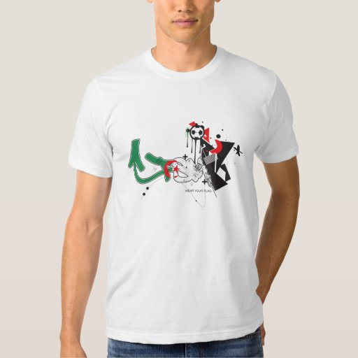 FSM World Cup 2010 - Algeria Flag T-shirts