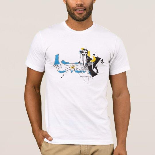 FSM World Cup 2010 - Argentina Flag T-Shirt