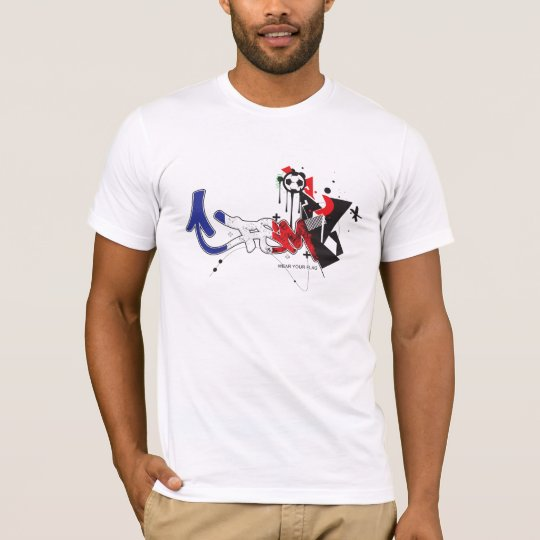 FSM World Cup 2010 - France Flag T-Shirt