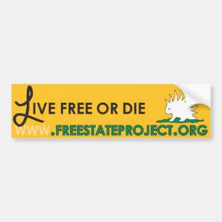 FSP Bumper Sticker - Live Free or Die