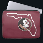 "FSU | Classic Seminoles State Logo Laptop Sleeve<br><div class=""desc"">Check out these official Florida State University designs! You can personalize your own FSU merchandise on Zazzle.com to show off your Seminoles pride. This Florida State gear is perfect for students,  friends,  family,  staff,  and alumni.  Go Noles!</div>"