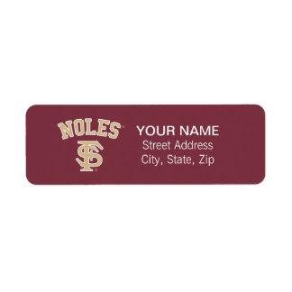 FSU Noles Label