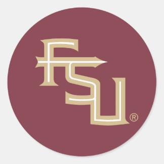 FSU Seminoles Classic Round Sticker
