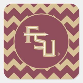 FSU Seminoles Square Sticker