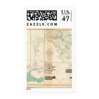 Ft BradyFt Burnham Five Forks Postage