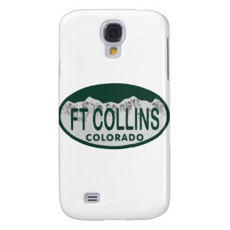 Ft Collins license oval Samsung Galaxy S4 Case