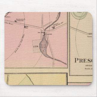 Ft Fairfield, Presque Isle, Caribou Map Mouse Pad