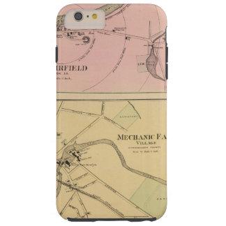 Ft Fairfield, Presque Isle, Caribou Map Tough iPhone 6 Plus Case