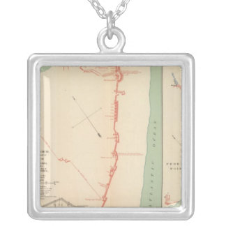 Ft Fisher Silver Plated Necklace