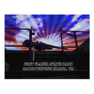 Ft Flagler State Park Postcard
