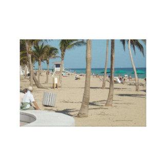 Ft Lauderdale Beach Canvas Print