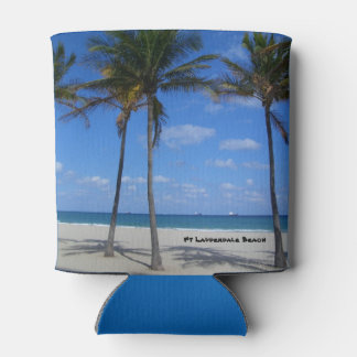 Ft Lauderdale Beach Florida Palm Trees Can Cooler