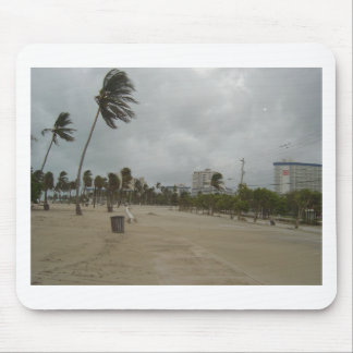 Ft Lauderdale Beach High Winds Mouse Pad