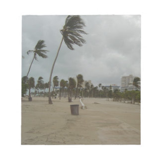 Ft Lauderdale Beach High Winds Memo Note Pads