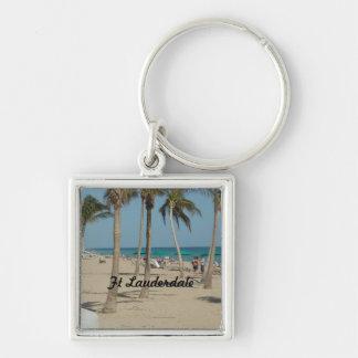 Ft Lauderdale Beach Keychain